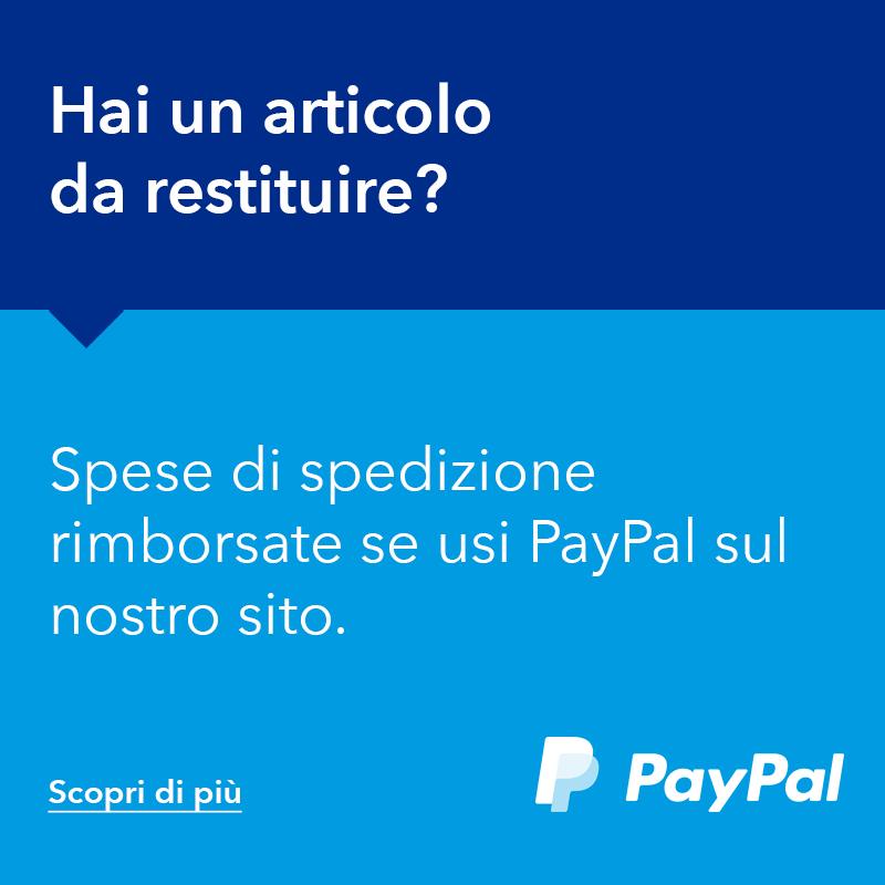 Reso gratuito con PayPal