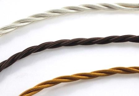 Vendita cavi elettrici a treccia in seta e cotone prezzo costo