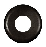 GI Gambarelli 1113 - walnut round wall plate 80