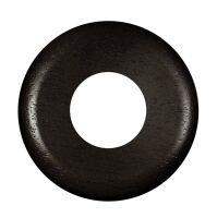 Gi Gambarelli - walnut round wall plate Ø 80