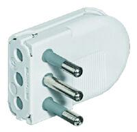 2P+E 1.A 25.V plug