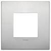 Arke - placca Classic Alu-Tech in alluminio 2 posti naturale