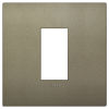 Arke - placca Classic Color-Tech in tecnopolimero 1 posto verde matt