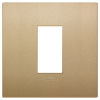 Arke - placca Classic Color-Tech in tecnopolimero 1 posto oro matt