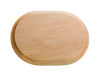 Oval - rosetta legno colore naturale