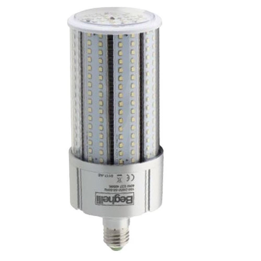 Beghelli 56162 lampada led tubolare e27 40w 230v 4000k for Lampada tubolare led