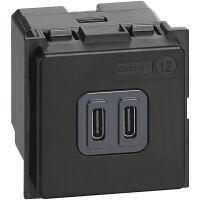 BTicino K4286C2 Living Now - caricatore USB tipo C 2M