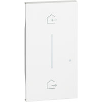 BTicino KW40M2 Living Now Bianco - cover simbolo entra&esci wireless