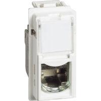 BTicino KW4279C6 Living Now Bianco - connettore trasmissione dati RJ45 cat.6