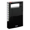 Lanterna portatile d'emergenza ricaricabile nero IlluminaLED
