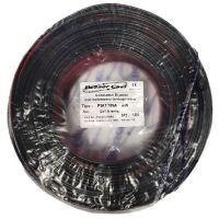Piattina per Hi-FI polarizzata 2X0.5mmq rossonero - 100mt
