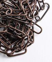 Catena genovese ferro brunito per lampadari
