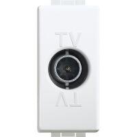 BTicino C4202CD LU-BASE TV/SAT UNI C/C 1M BLAN