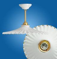 Ceiling lighting Ventaglio gocce d'oro Ø 180