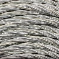 GI Gambarelli 10010 - Silk white twisted cable mm 3G1.5