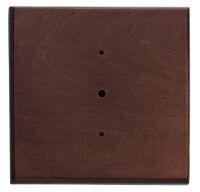 Rosetta in legno noce per serie Rettangolo