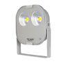 Proiettore led 080W 4000K LITTLE-LORD PR silver simmetrico