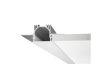 Profilo in alluminio da incasso 37 x 35 x 202 mm