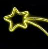 Cometa 240 led bianco caldo bifacciale con neon flex 27x67