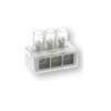 Morsetto unipolare 3 multiforo 6 mmq BOXline-Multi