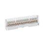 Morsetto unipolare 15 multiforo 16 mmq BOXline-Multi