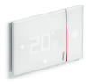 Cronotermostato da incasso Wi-Fi bianco Smarther2