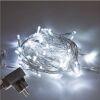 Miniluci Led - milleluci natalizie 80 led bianco freddo con flash 13.5mt IP44