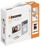 BTicino 364614 - kit video monofamiliare Classe 100X16E - Linea 3000