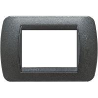 BTicino L4803GFN - cover pl. 3m bl.graphite