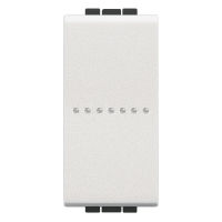 LL - 1 way ax switch 1P 10A 1m white