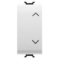 Chorus Bianco - doppio pulsante interbloccato con frecce