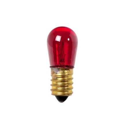 Arteleta - Lampada incandescenza goccetta rossa E14 5W 14V per luminarie