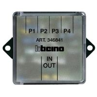 Derivatore di piano per video/citofonia 2 fili BTicino