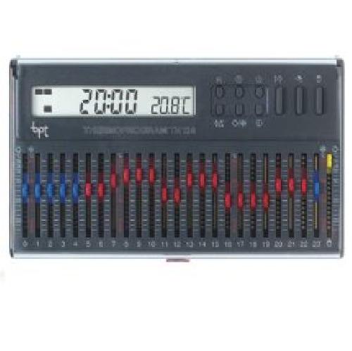 Bpt 69403610 cronotermostato da parete grigio th gr for Bpt termostato istruzioni