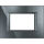 Axolute - 3-mod cover plate anthracite