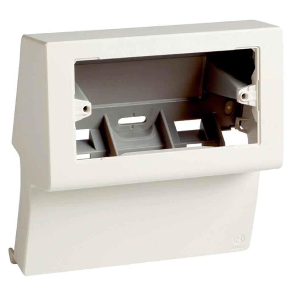 Canalina Per Fili Tv scatola per canale battiscopa bianco porta apparecchi 3/4 posti sbni 4-3 w