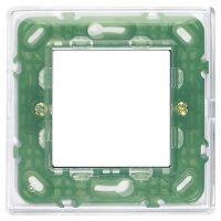 Plana - placca in tecnopolimero 2 posti reflex aria