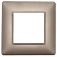 Plate 2M metal pearl nickel
