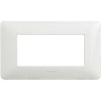 Màtix Cover plate 4 mod. white