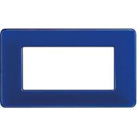 Màtix Cover plate 4 mod. Colors cobalt