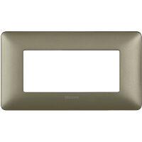 Màtix Cover plate 4 mod. titanium