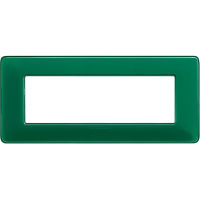 Màtix Cover plate 6 mod. Colors emerald