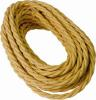 Cavo a treccia in cotone oro 3G2.50 - 50mt