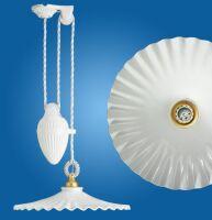 Lampadario soffitto saliscendi Ventaglio Ø400