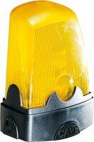 Lampeggiatore giallo a led per automatismi 230V