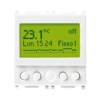 Timer-thermostat 120-230V white