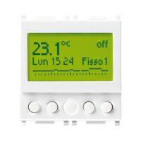 Timer-thermostat 120-230V white