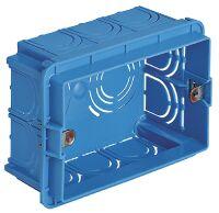 Flush mounting box 3M light blue