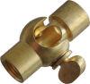 Snodo in ottone con chiusura F/F M10x1 19 X 24 mm