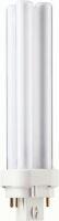 Lampada fluorescente compatta G24q-2 18W 4000k DURALUX D/E